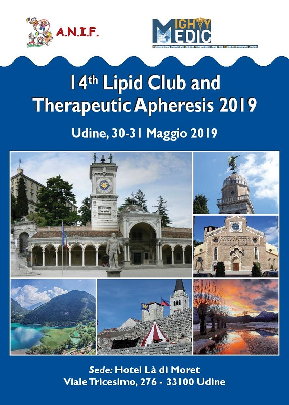 Programma 14th Lipid Club and Therapeutic Apheresis 2019