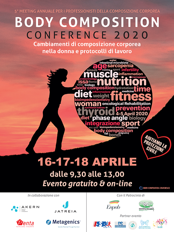 Programma Body Composition Conference 2020 - Webinar