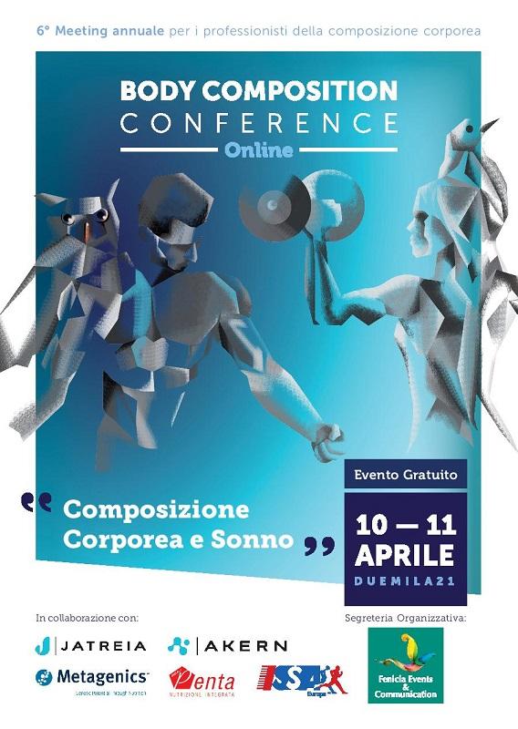 Congresso Body Composition Conference 2021 - 6 Edizione - REGISTRAZIONE